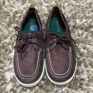 Nautica brown shoes 💞